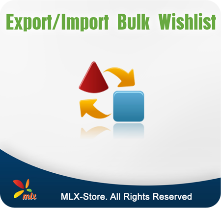 Export/Import Bulk Wishlist