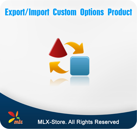 Export/Import Custom Options Product