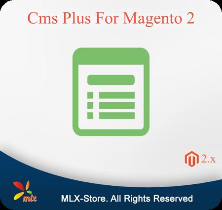 Cms Plus For Magento 2