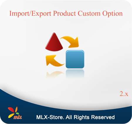 Import/Export Product Custom Option For Magento 2