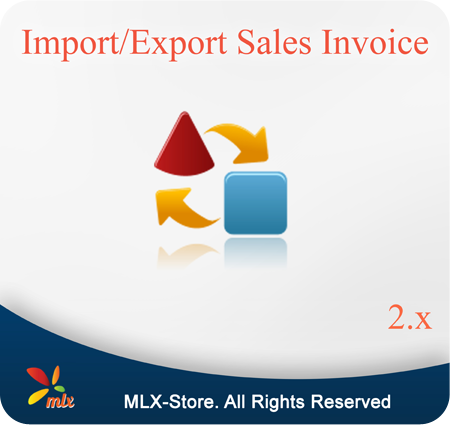 Import/Export Sales Invoice For Magento 2