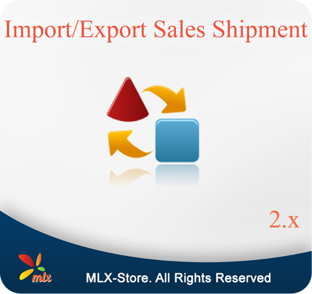 Import/Export Sales Shipment For Magento 2