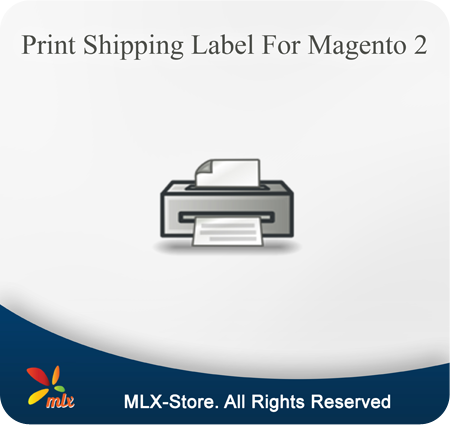 Print Shipping Label For Magento 2
