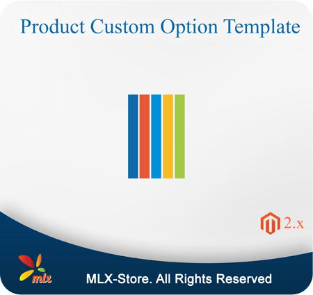 Product Custom Option Template For Magento 2