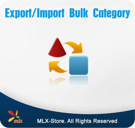Export/Import Bulk Category